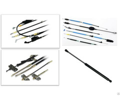 Automotive Control Cable And Gas Spring