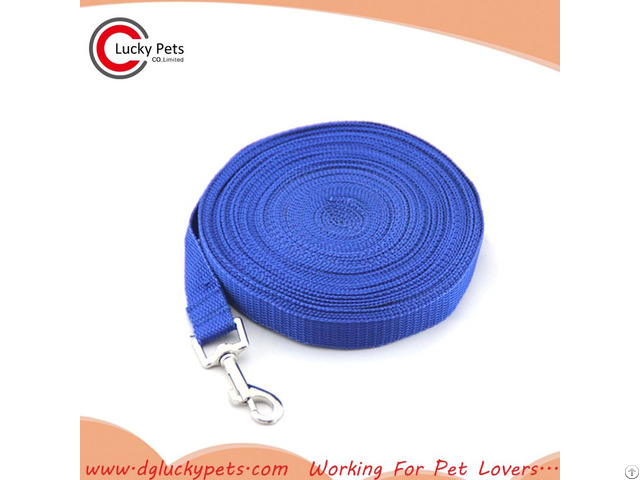 Custom Dog Long Lead Training Leash For Any Size Of Dogs