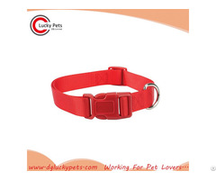 Plain Pet Nylon Collar For Puppy Dogs