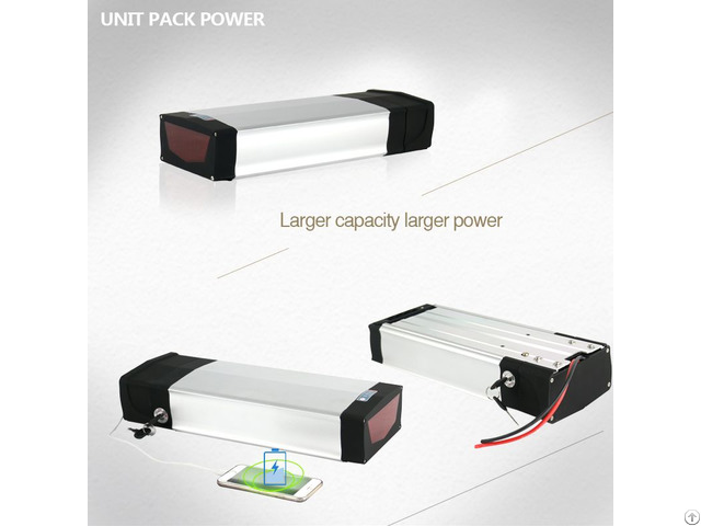 Powerful Rear Rack Battery 48v 15ah With 2a Charger