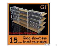 Supermarket Shelving System 4ways Gondola