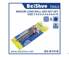 Ball End Allen Hex Key Wrench Set