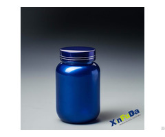Pharma Solid Capsule Bottle And Container With Metal Cap E170
