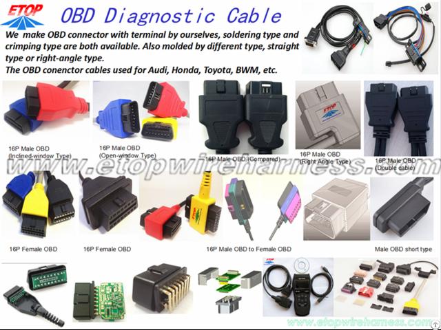 Obd2 Diagnostic Cable