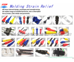 Strain Relief Overmolding