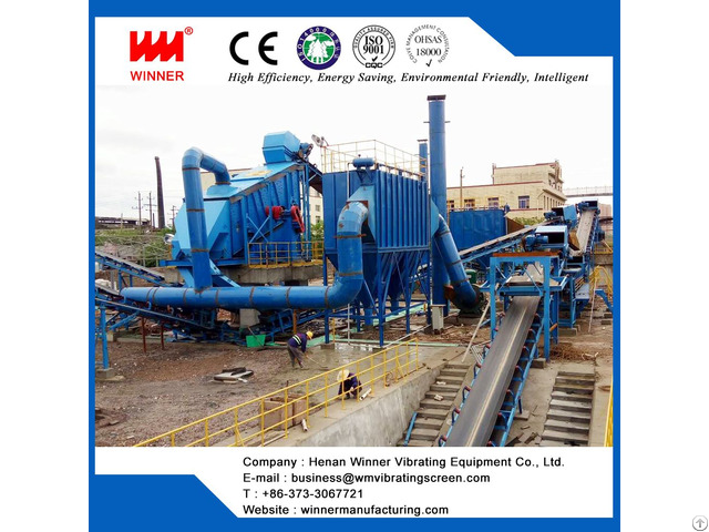 Construction Waste And Demolition Recycling System