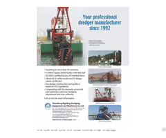 Dredging Equipment Cutter Suction Dredger