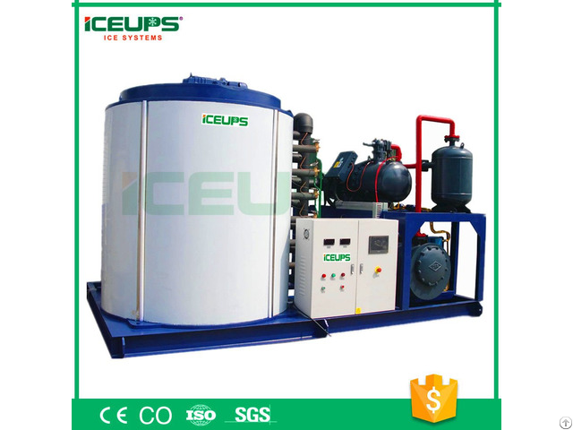 Professional Flake Ice Machine With Full Automatic Kmh 25t 25000kg Day