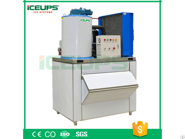 Automatic Flake Ice Machine 1ton A Day Ce Approved Made In China Shenzhen