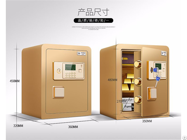 Safe Deposit Box E 45jd