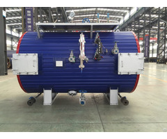 3t Industrial Exhaust Gas Boiler Unit For Generator Sets