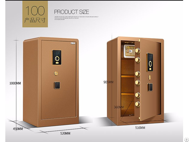 Safe Deposit Box E 100jd
