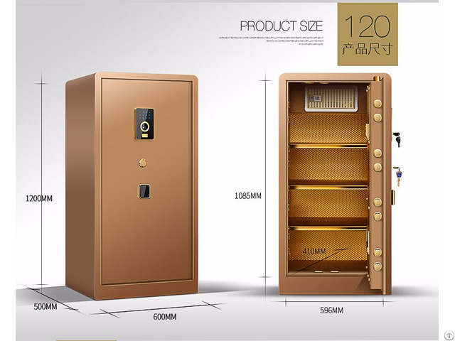E 120jd Safe Deposit Box