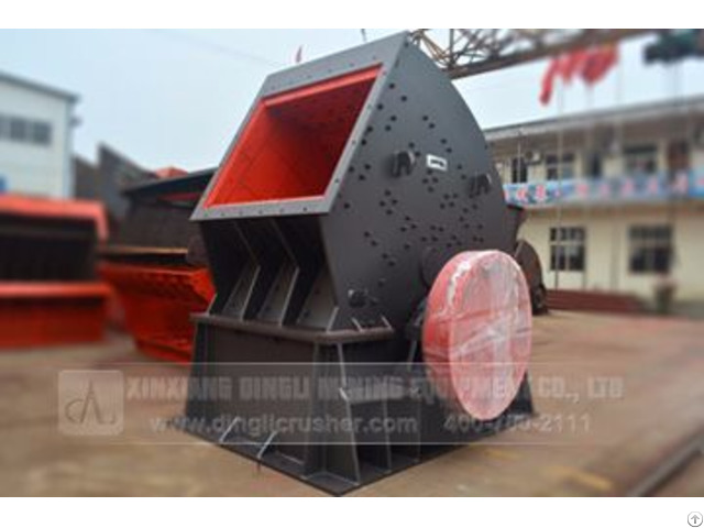 Coal Gangue Crusher In Production Line