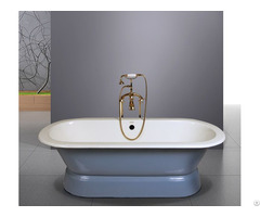 Freestanding Cast Iron Bath Lamarty