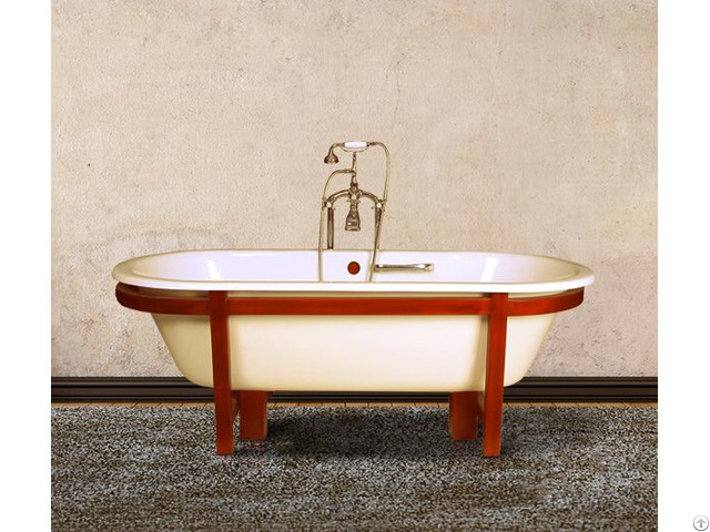 Freestanding Cast Iron Bath Odissey
