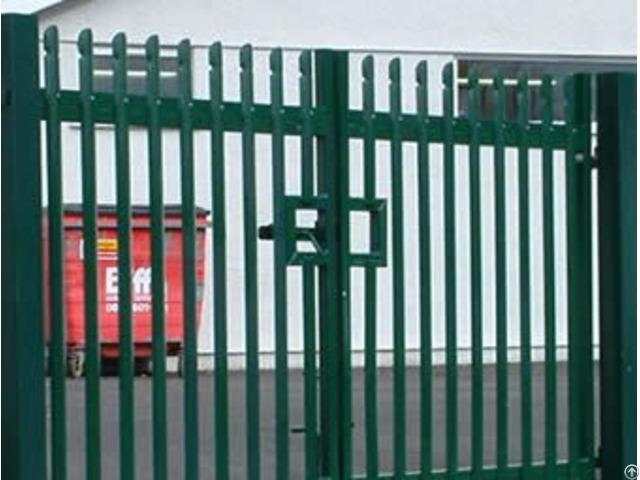 Palisade Fencing Gate