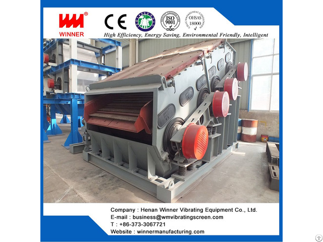Double Frequency Vibrating Screen For Mining