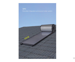 Home Application Flat Plate Mini Solar Water Heater