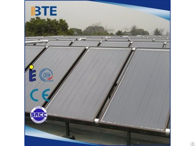 Sun Power Flat Plate Solar Collector Made For Kenya