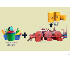Waste Plastic Recycling Process Pyrolysis Plant