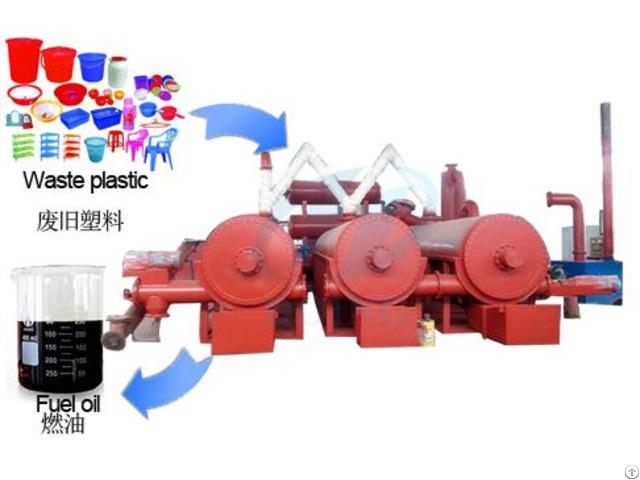 Waste Plastic To Oil Machine