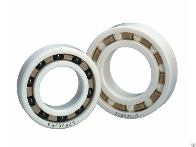 Zro2 Deep Groove Ceramic Ball Bearings