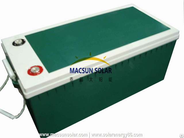 Macsun Solar Battery Ms Sb40 12