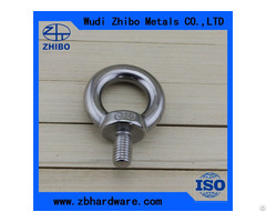 Stainless Steel Jis1168 Eye Bolt Japan Type