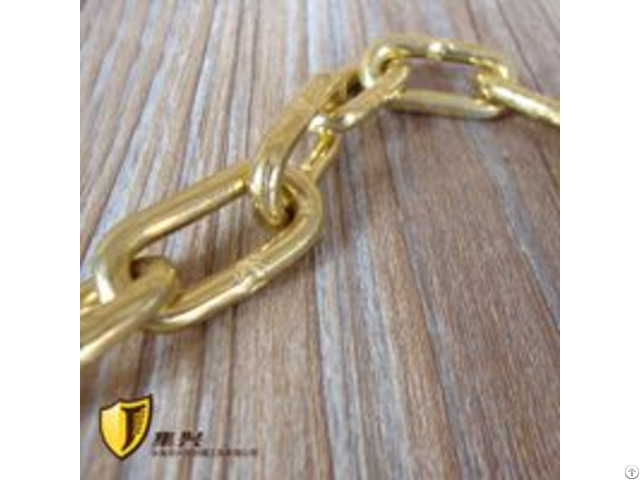 5mm Non Sparking Link Brass Welded Chain