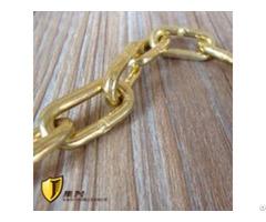 5mm Non Sparking Link Brass Welded Chain