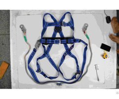 Safety Harness With Belt