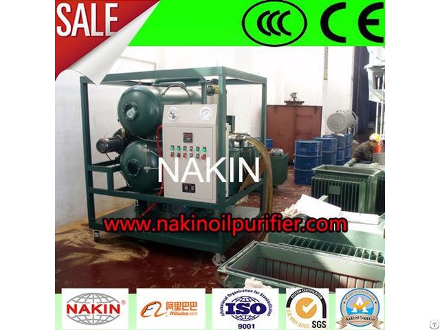 Vacuum Transformer Oil Purifier Regeneration Plant