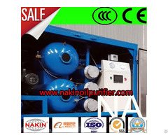 Transformer Oil Dehydration Plant Water And Gas Separator
