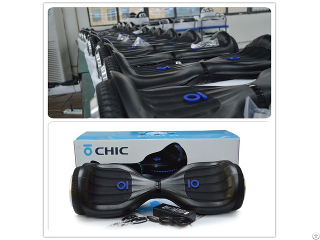 Chic Smart 2 Wheel Self Balancing Hoverboard Electric Scooter China