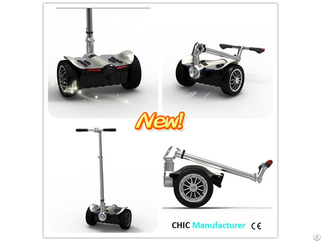 Chic Foldable Smart Balance Electric Scooter Hoverboard Skateboard Motorized Adult