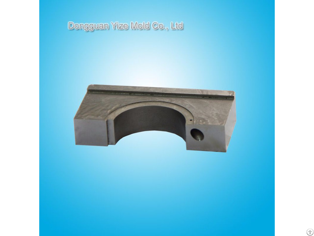 China Plastic Mold Spare Parts Processing Precision Component Of Semiconductor