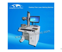20w Fiber Laser Marking Machine Nameplate Engraving