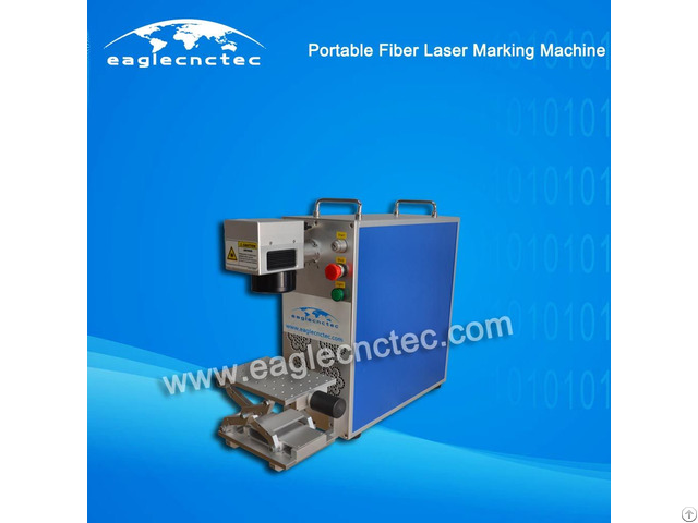Portable Cnc Fiber Laser Nameplate Marking Machine For Sale