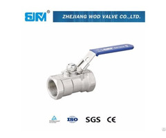 Threaded Stainless Steel Ball Valve