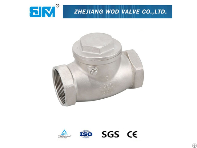 Thread Stainless Steel Check Valve