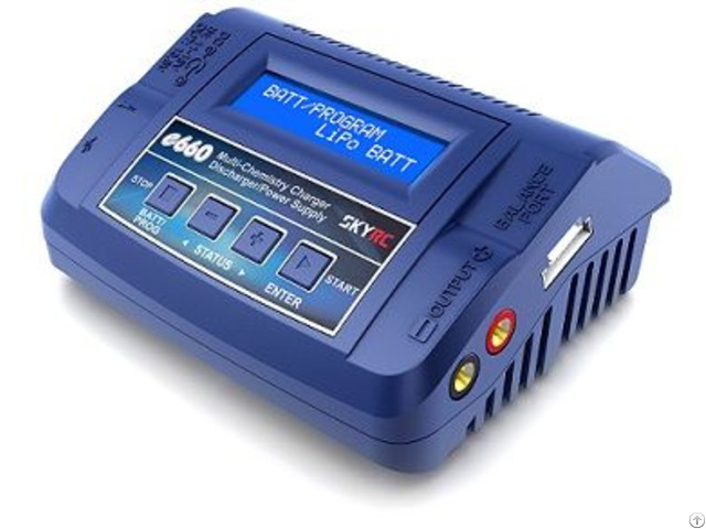 Skyrc E660 Ac Dc Professional Charger Discharger Power Supply