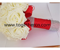 Sell Wedding White Rose Flower Bouquet