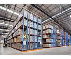 Logistic Equipment Heavy Duty Storage Double Deep Pallet Racks