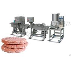 100kg H Burger Patty Production Line