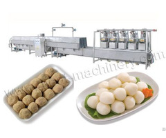 Automatic Meatball Manufacturing Line