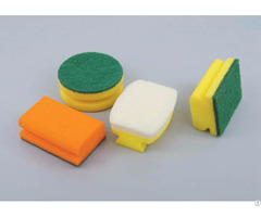 Kitchen Cleaning Scouring Pads Sponge