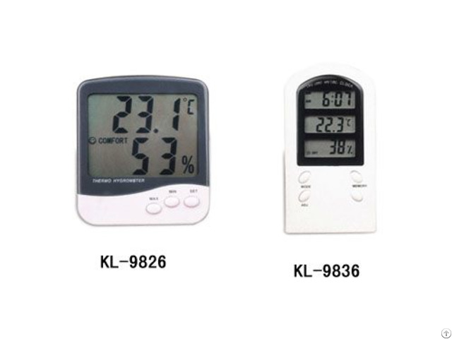 Kl 9826 9836 Digital Hygro Thermometer
