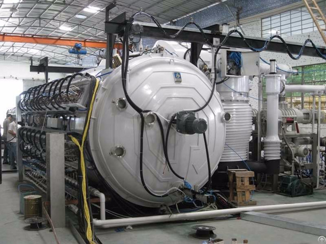Large Scale Cathodic Arc Pvd Coater