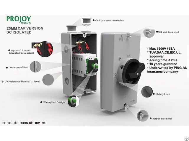 1500v Dc Isolator